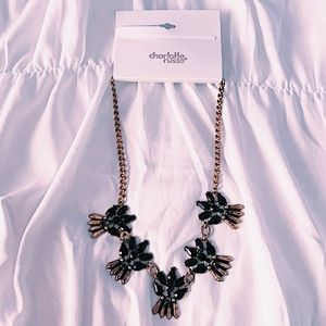 COPY - Charlotte Russe Black Statement Necklace